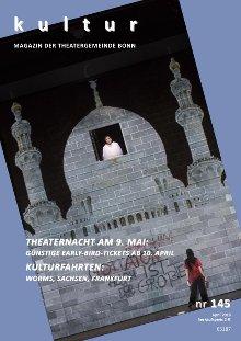 Titelbild der aktuellen Ausgabe des kultur magazin